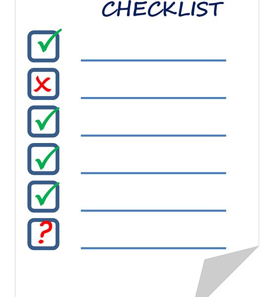 checklist huis bezichtigen