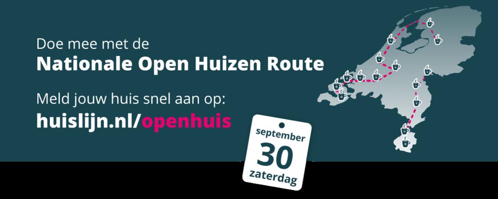 Open Huis zaterdag 30 september