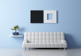 kleur op de muur