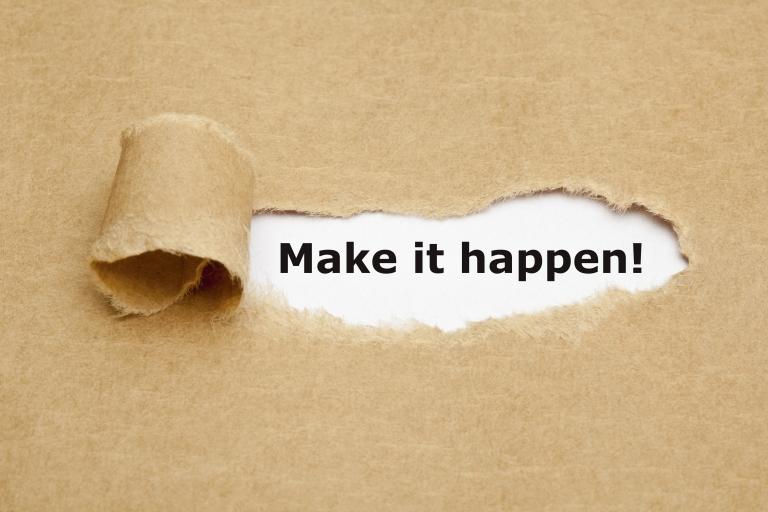 make it happen - verkoopopdracht