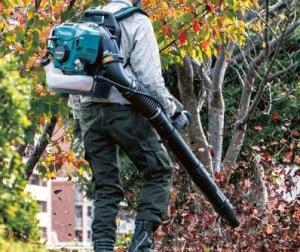 benzine bladblazer voor in de tuin