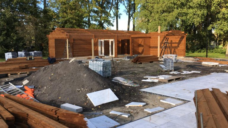 Tuin verbouwing