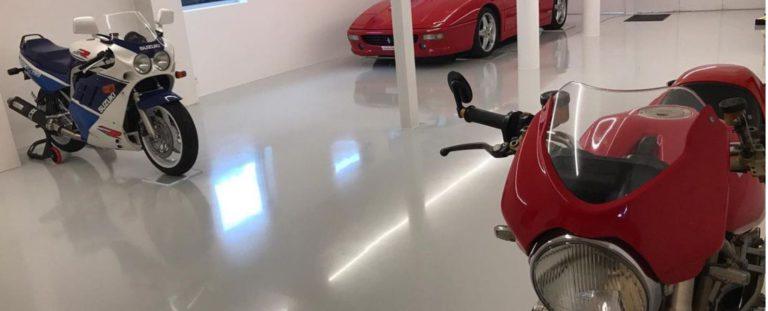Gietvloer voor in de garage