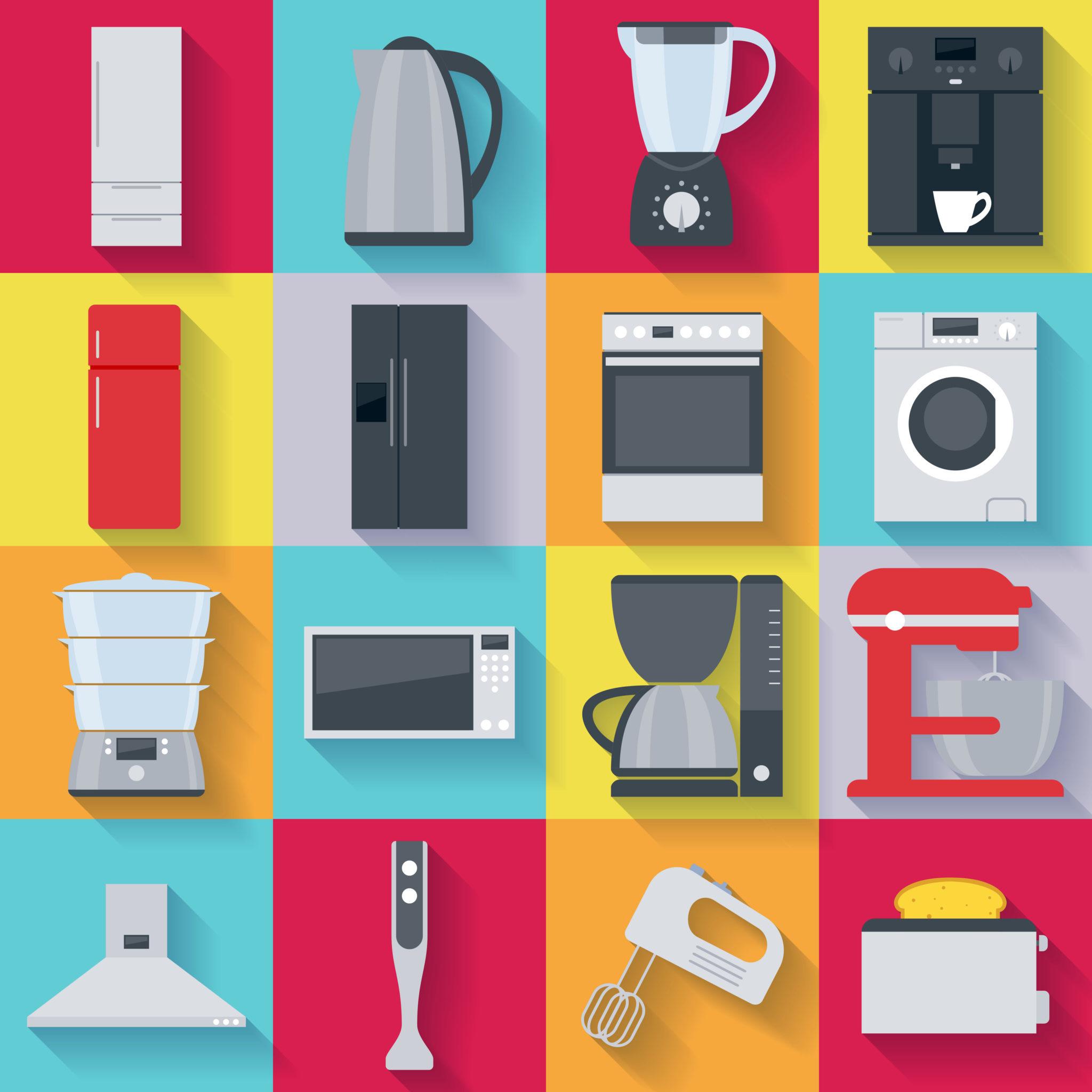 apparatuur voor in de keuken