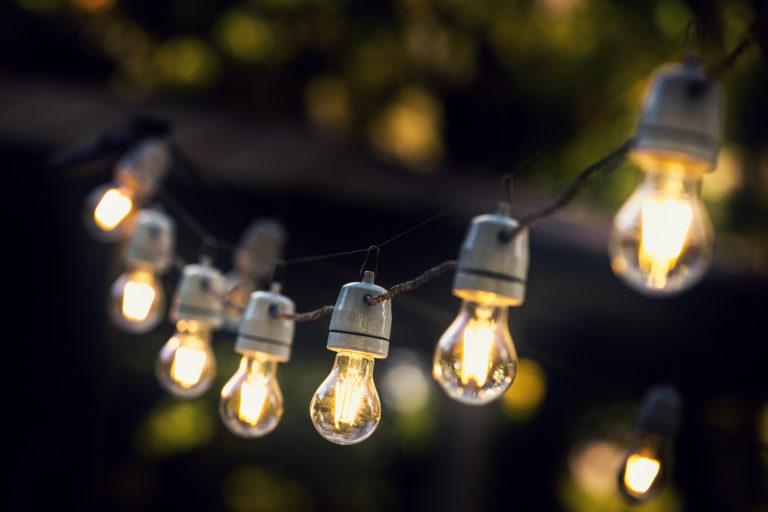 sfeervolle tuinverlichting