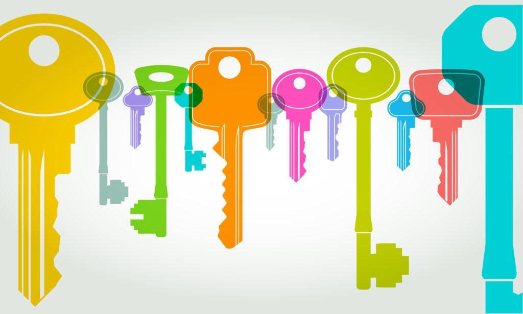 belang van de sleutel