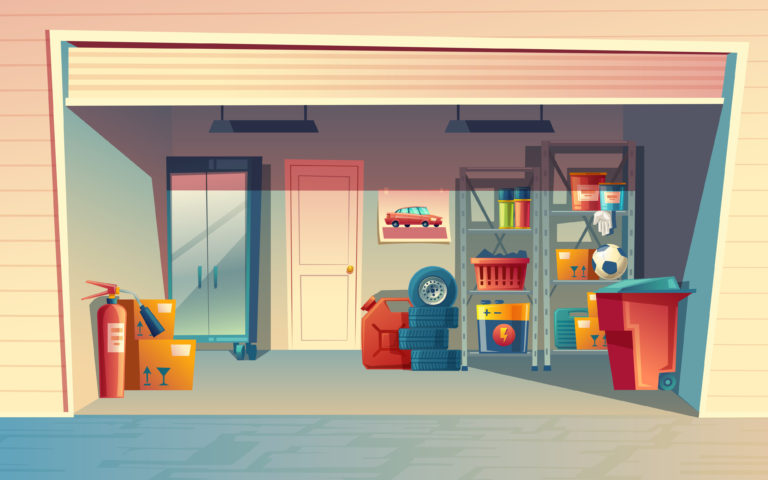 garage aan huis